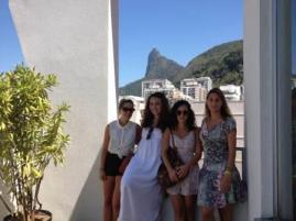 De izda. a dcha.: Katie, Inés L., Rocío y Laia.